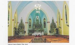 Interior igreja matriz